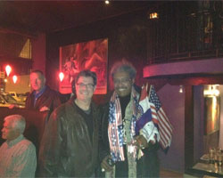 Dr. Rick Lehman and Don King