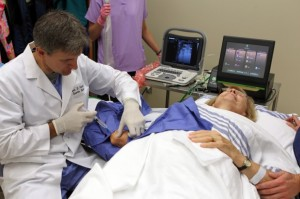 Dr. Steven Stahle performing the FAST Procedure